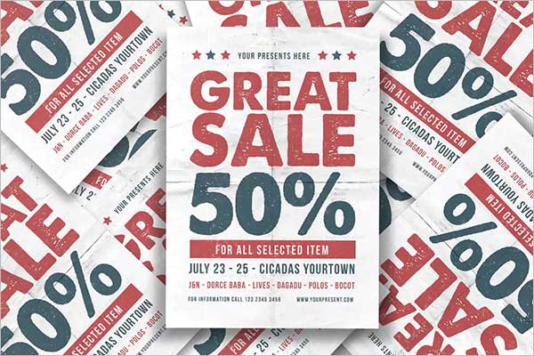 Marketing Sale Flyer Design