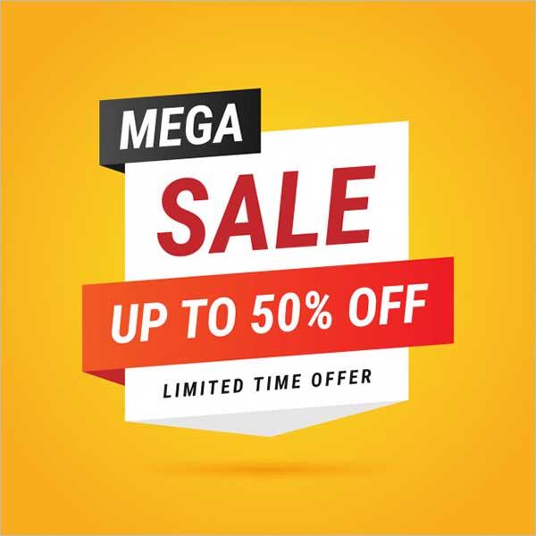 Mega Sale Flyer Design