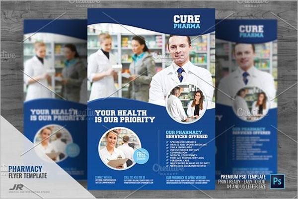 Pharmacy Advertising Flyer