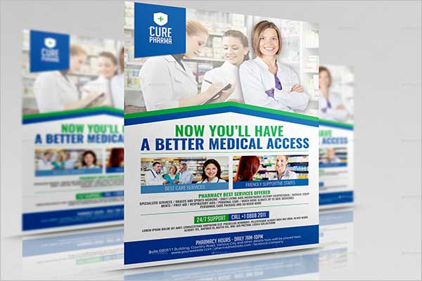 Pharmacy Company Promotional Flyer