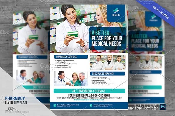 Pharmacy Drugstore Flyer