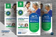 Pharmacy & Health Care Flyer
