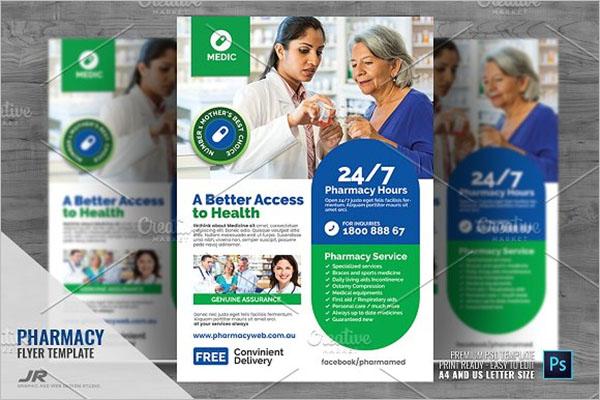 Pharmacy & Health Care Flyer