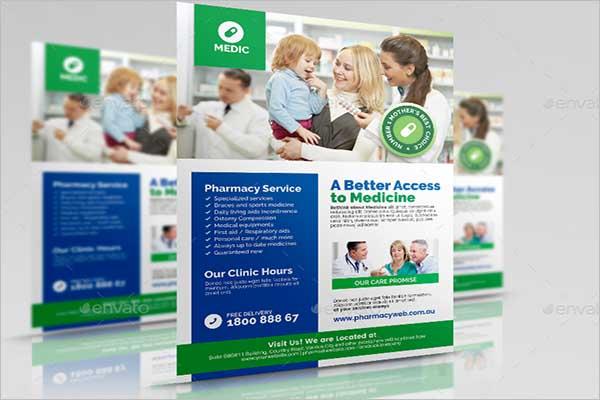 Pharmacy & Medical Flyer