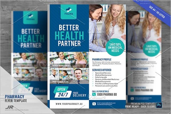 Pharmacy Promotional Flyer