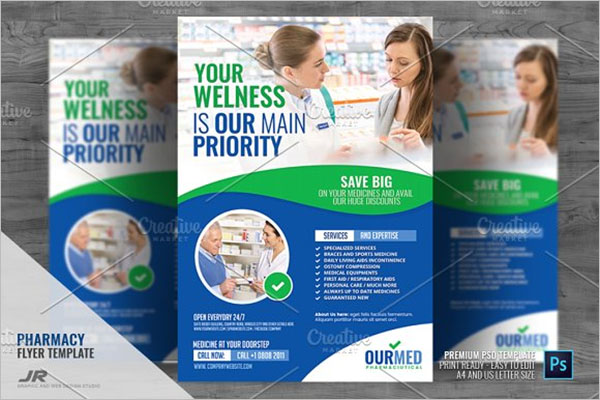 Pharmacy Supply Flyer