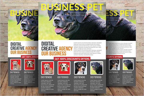 Printable Dog Service Flyer