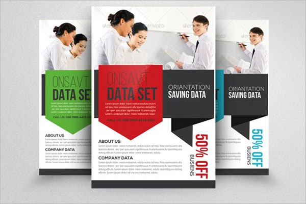 Professional Computer Training Flyer Templates