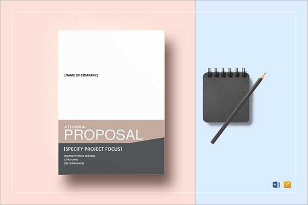 Project Proposal Template PDF