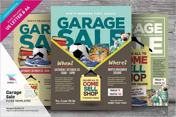 Promotional Sales Flyer Design