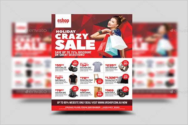 Sale Flyer Design Inspiration