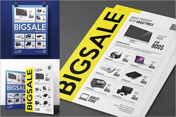 Sale Flyer Online Design