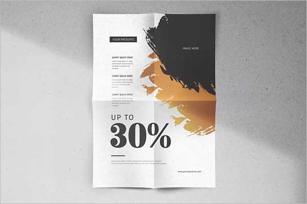 Sales Flyer Design Example