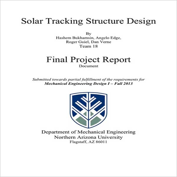 Sample Project Tracking Template