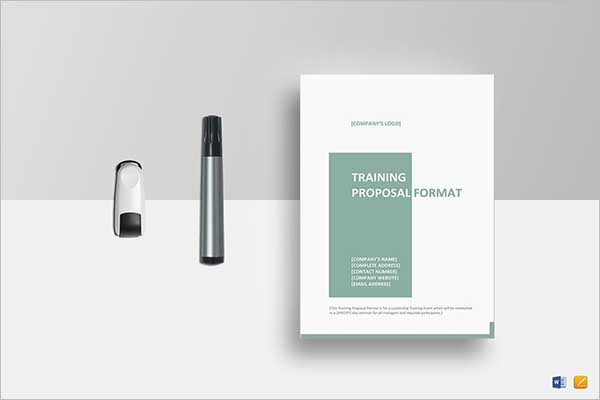 Sample Project Training Proposal Template
