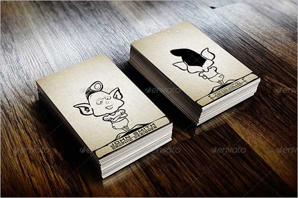 Sketch Business Card Example
