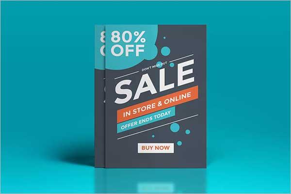 Small Sales Flyer Design