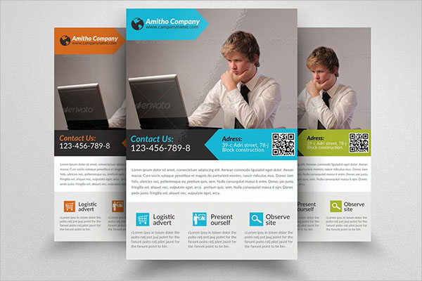 Special Computer Training Flyer Design