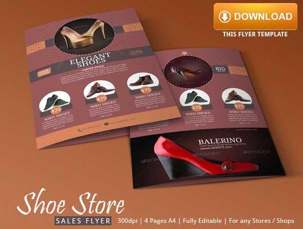 Store Sale Flyer Design