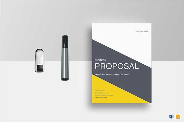 Training Proposal Template Document