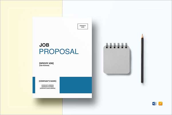 Training Proposal Template Word