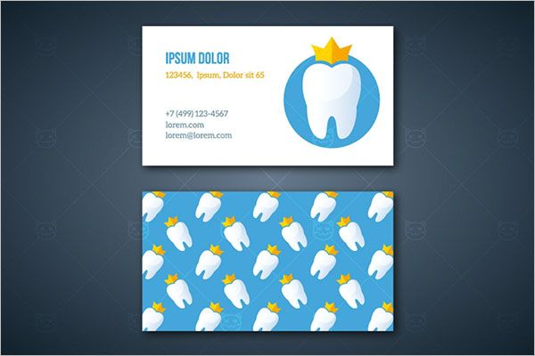 Unique-Dental-Care-Business-Card-Design