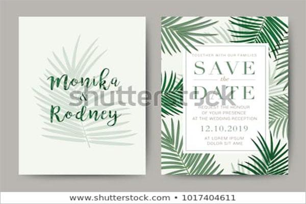 Wedding Card Reward Flyer