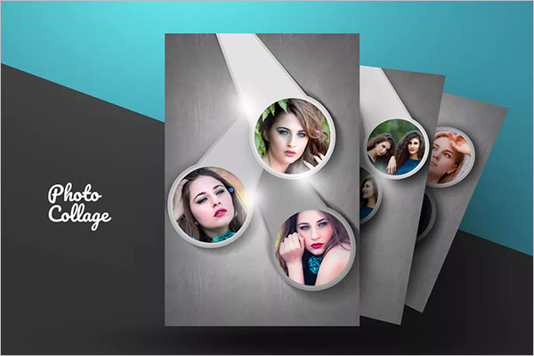awesome photo collage flyer design