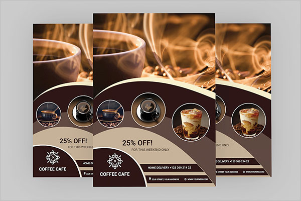 coffee shop flyer design free download