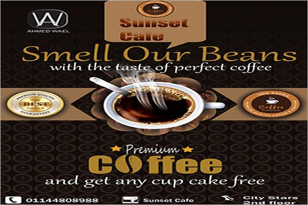 coffee shop flyer design idea