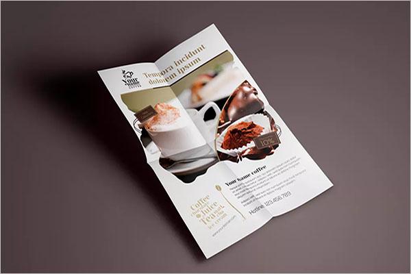 coffee shop flyer invitation