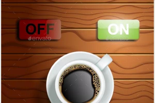 coffee shop flyer power design