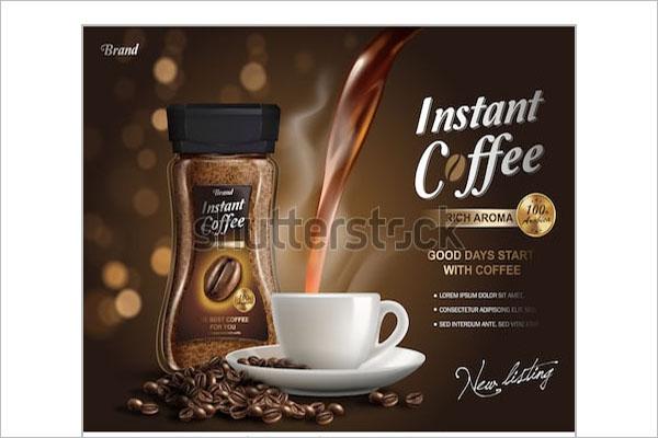 coffee shop hour flyer design