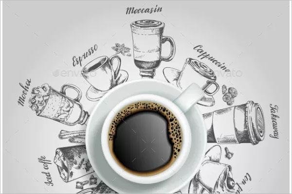 Coffee Shop Morning Flyer