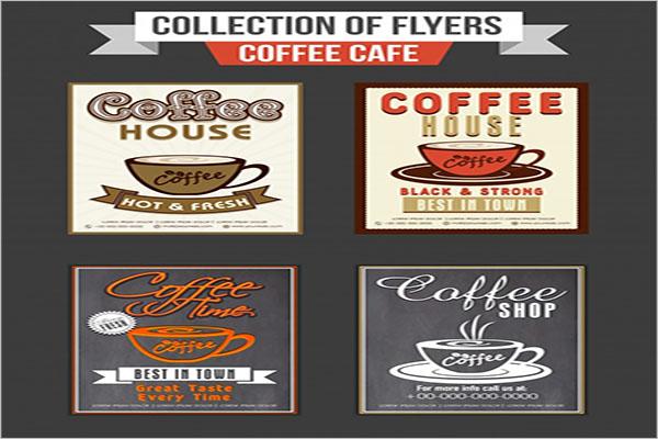 free coffee shop flyer designs
