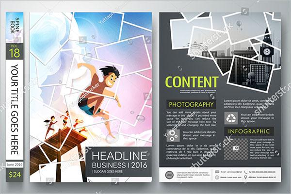 photo collage flyer design