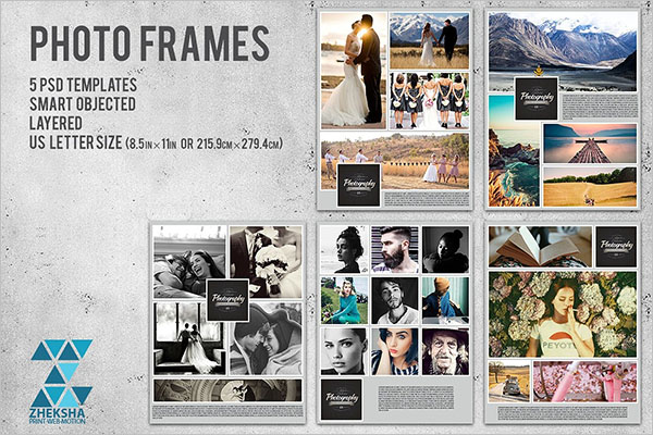 Photo Collage Flyer Sample Template