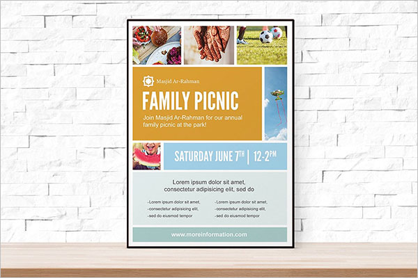 poster photo collage flyer template