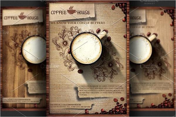 sample Coffee Shop Flyer Design
