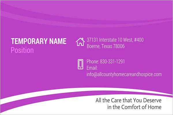 Advanced Day Care Business Card Design