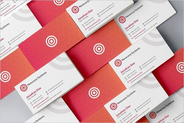 Awesome Charity Business Card Design
