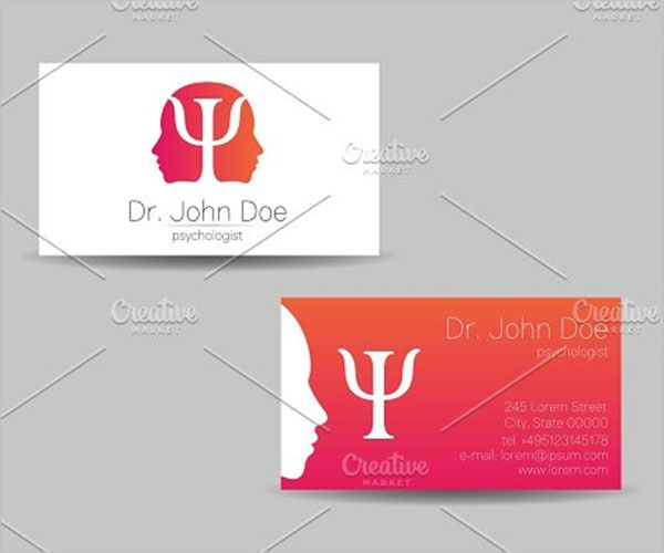 Awesome Clinic Business Card Design