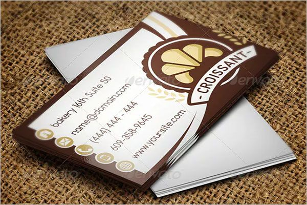 Bakers Catering Services Business Card