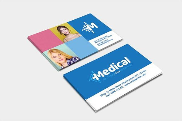 Beautiful Clinic Business Card Design