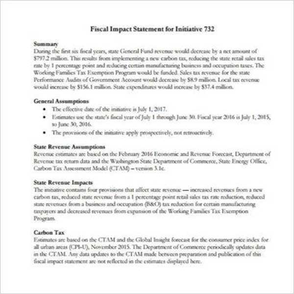 Best Business Income Statement Template