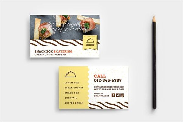 Best Catering Services Business Card