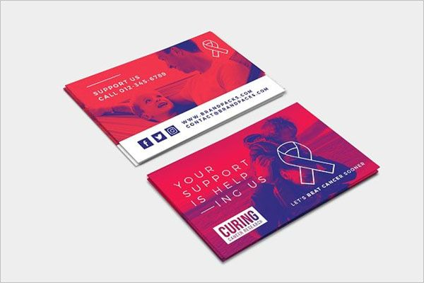 Best Charity Business Card Template