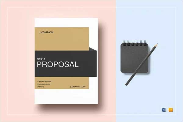 Best Cost Proposal Template