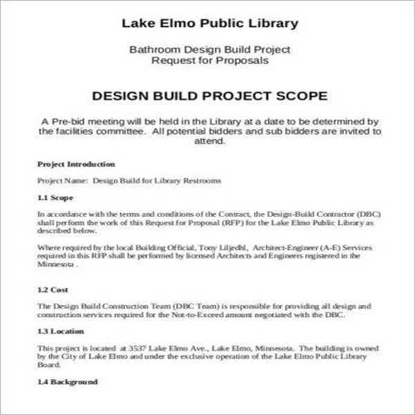 Branding Design Proposal Template