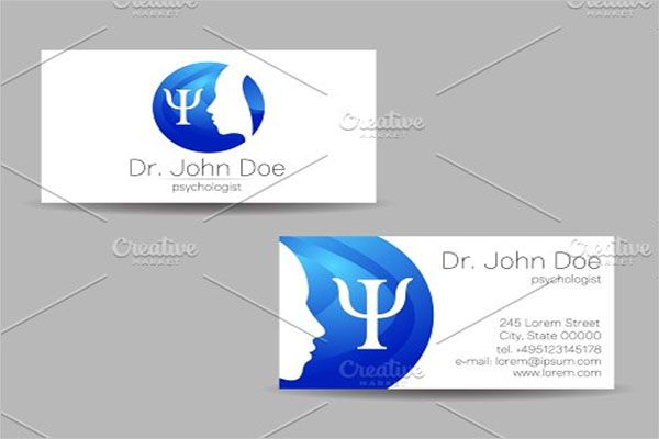 Caring Clinic Business Card Design